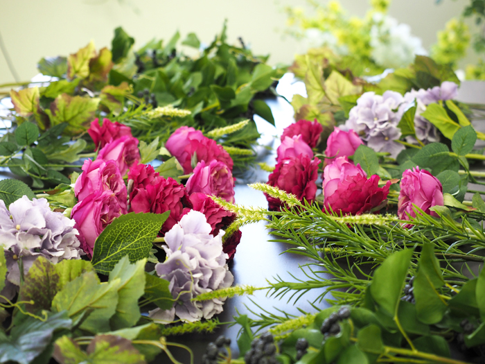 フラワースクールで学ぶ花の素材について
