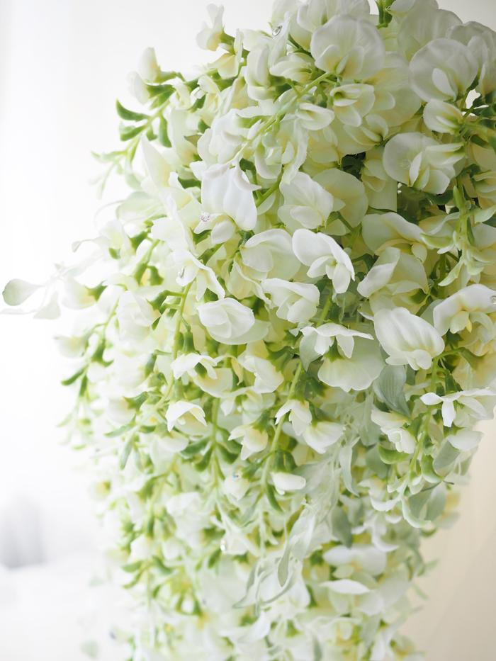 アーティフィシャルフラワーフラワーブーケ藤の花