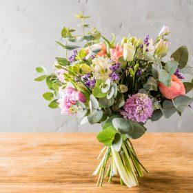 シャンぺトル花束の作り方