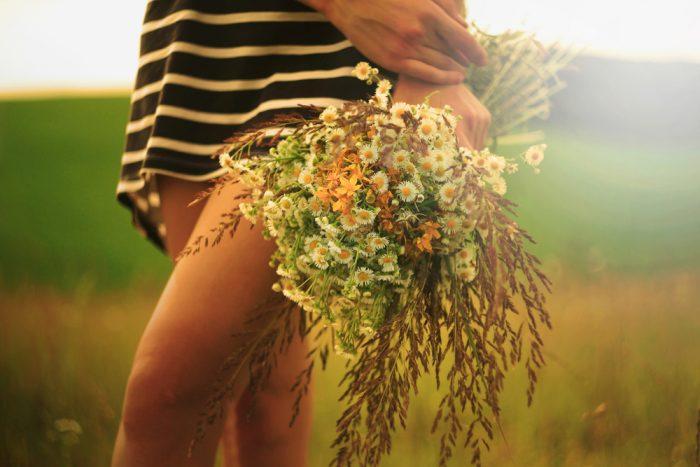 花束のデザインを使い分ける